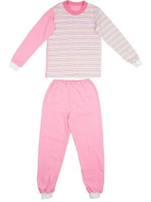 Пижама KIDONLY. Цвет: розовый