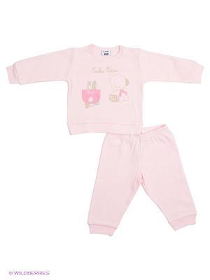 Пижама MANAI. Цвет: бледно-розовый