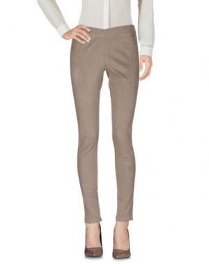 Повседневные брюки KANGRA CASHMERE. Цвет: хаки