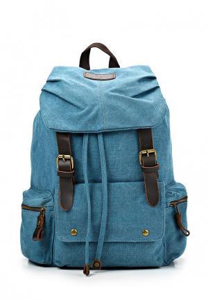 Рюкзак Polar. Цвет: голубой