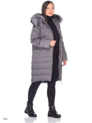 Пальто WINTERRA. Цвет: серый