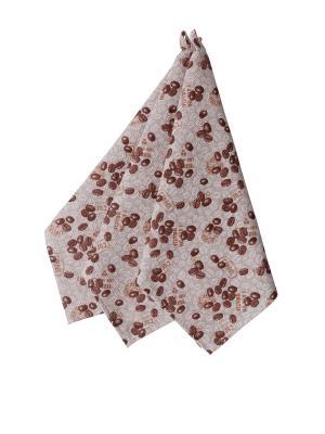 Набор полотенец,3штуки Fresca Design. Цвет: коричневый, светло-коричневый, темно-бежевый