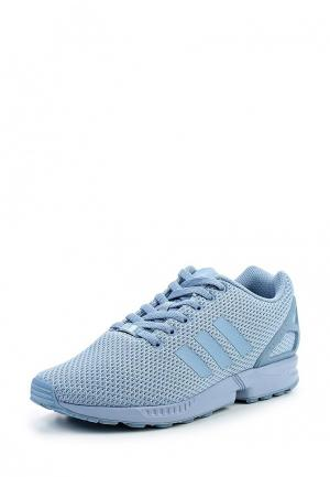 Кроссовки adidas Originals. Цвет: голубой