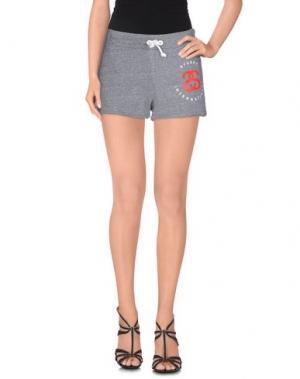 Повседневные шорты STUSSY. Цвет: серый