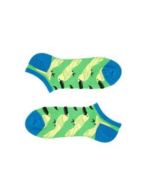 Носки Sammy Icon. Цвет: зеленый, желтый, черный