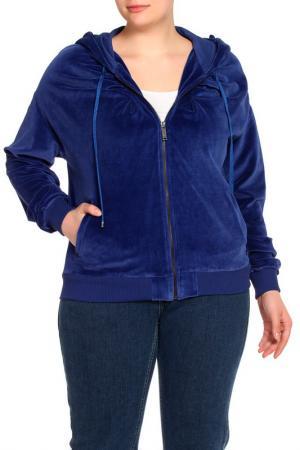 Куртка спортивная Iceberg. Цвет: синий