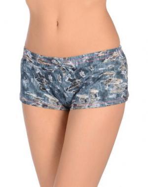 Пляжные брюки и шорты FAANJ. Цвет: грифельно-синий
