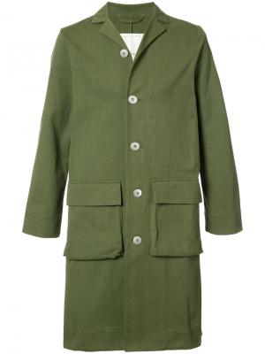 Пальто  Photographer Toogood. Цвет: зелёный