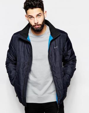 Addict Стеганая куртка Insulator. Цвет: черный