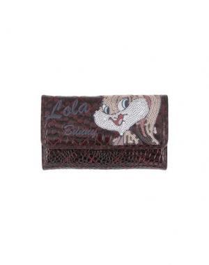 Бумажник LOONEY TUNES for BRACCIALINI. Цвет: красно-коричневый