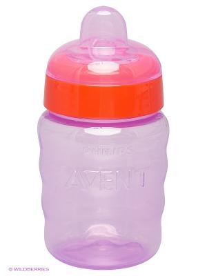 Чашка с мягким носиком Philips Avent SCF553/00, 260 мл, 12 мес.+. Цвет: фиолетовый