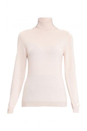 Джемпер из шелка с кашемиром 136705 Sweet Sweaters. Цвет: бежевый