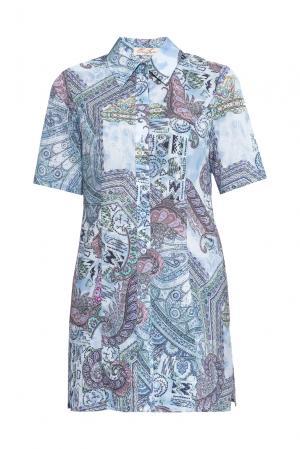 Блуза-туника 160265 Elena Shipilova. Цвет: разноцветный