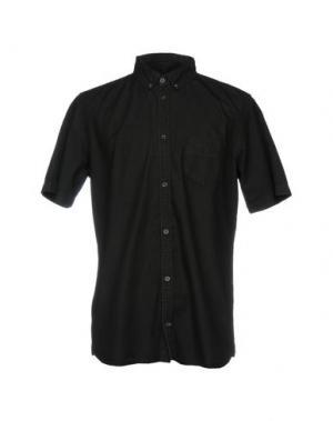 Джинсовая рубашка DR. DENIM JEANSMAKERS. Цвет: черный