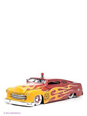 Модель автомобиля FIRE 51 Mercury  1:24 Jada. Цвет: красный