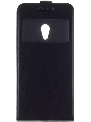 Флип-кейс для Slim AW Asus Zenfone 5 skinBOX. Цвет: черный