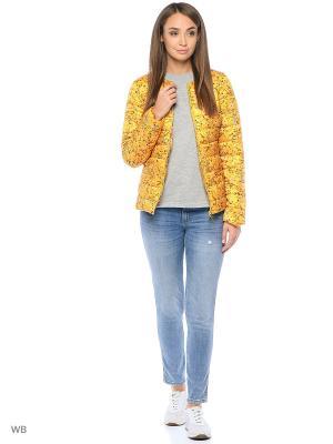 Куртка Modis. Цвет: желтый