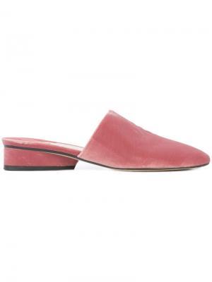 Мюли Pisa Paul Andrew. Цвет: розовый и фиолетовый
