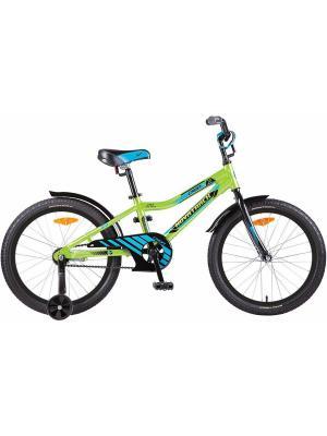 Велосипед 20 CRON алюм.рама NOVATRACK. Цвет: зеленый