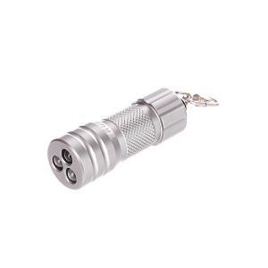 Брелок  Compact Microlite 3 Led True Utility. Цвет: серый