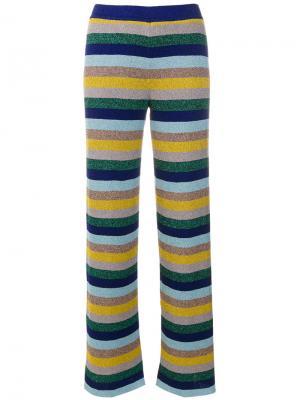 Полосатые брюки Missoni. Цвет: многоцветный