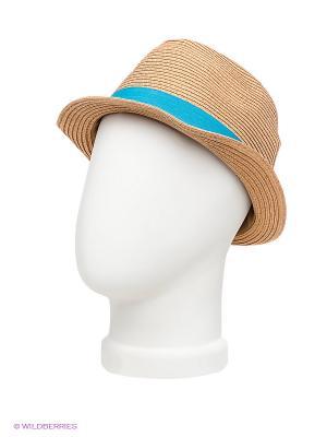 Шляпа Maxval. Цвет: темно-бежевый, голубой