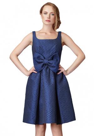 Платье Cavo. Цвет: синий