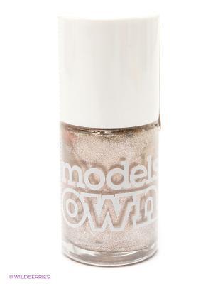 Лак для ногтей, Cream Top Turquoise  Models Own. Цвет: бежевый