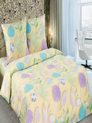 Комплект постльеног белья Арт Постель. Цвет: светло-бежевый