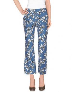 Повседневные брюки 1-ONE. Цвет: пастельно-синий