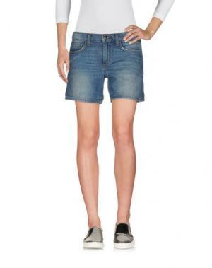Джинсовые шорты JOE'S JEANS. Цвет: синий