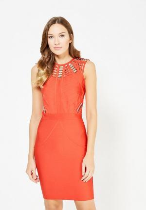 Платье Paccio. Цвет: красный