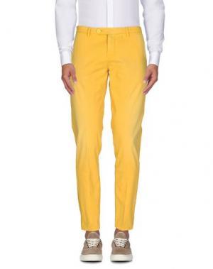 Повседневные брюки TAKESHY KUROSAWA. Цвет: желтый