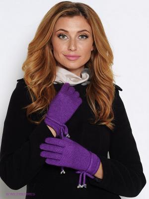 Перчатки Labbra. Цвет: фиолетовый