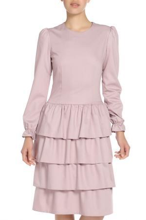 Платье Ketroy. Цвет: розовый