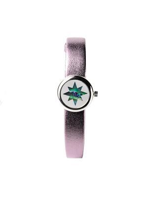 Часы ювелирные коллекция Transformers Звезды QWILL. Цвет: серо-зеленый
