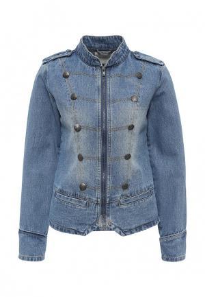 Куртка джинсовая BlendShe. Цвет: синий
