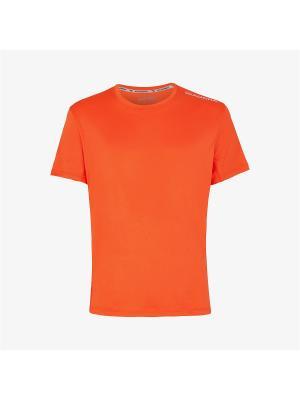 Футболка DIADORA. Цвет: оранжевый
