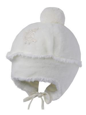 Шапка ILTOM. Цвет: молочный
