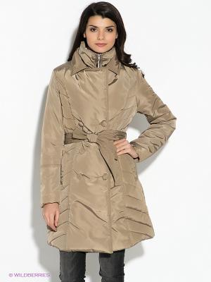 Куртка F5. Цвет: бежевый
