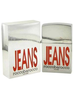 Jeans Roccobarocco. Цвет: серебристый