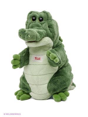 Игрушка на руку Крокодил TRUDI. Цвет: зеленый