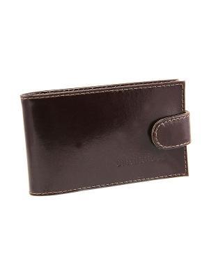 Кардхолдер/кредитница Вектор. Цвет: коричневый