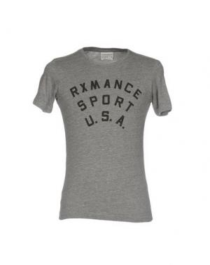 Футболка RXMANCE. Цвет: серый