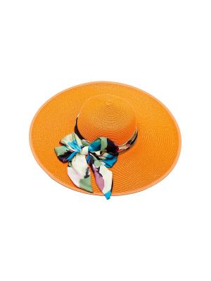 Шляпа Kameo-bis. Цвет: оранжевый, зеленый, голубой