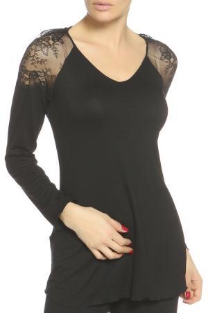 Блуза Cotton Club. Цвет: черный
