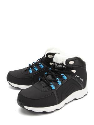 Кроссовки TRI-AIM. Цвет: черный