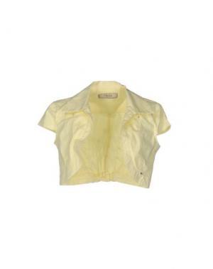 Пиджак FLY GIRL. Цвет: светло-желтый