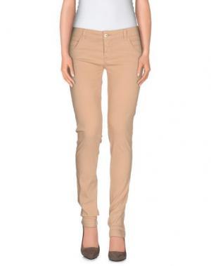 Повседневные брюки DORALICE. Цвет: песочный