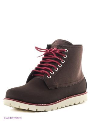 Ботинки Cbblr2BootM CROCS. Цвет: темно-коричневый
